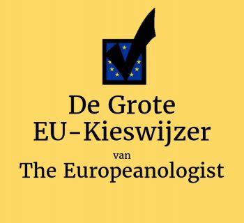 The Europeanologist's Grote EU-Kieswijzer